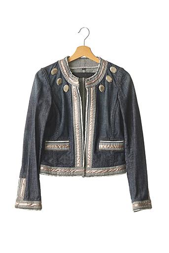Veste en jean bleu BARBARA BUI pour femme