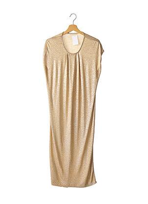 Robe mi-longue beige DAY BIRGER ET MIKKELSEN pour femme