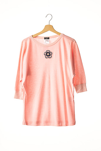 Pull col rond rose CHANEL pour femme