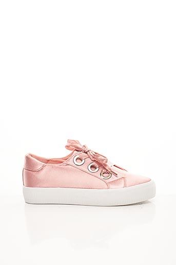 Baskets rose BELLUCCI pour femme