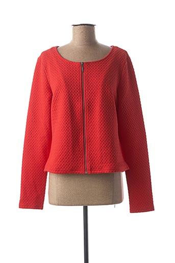 Veste casual rouge VILA pour femme