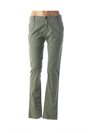 Pantalon casual vert TOMMY HILFIGER pour femme
