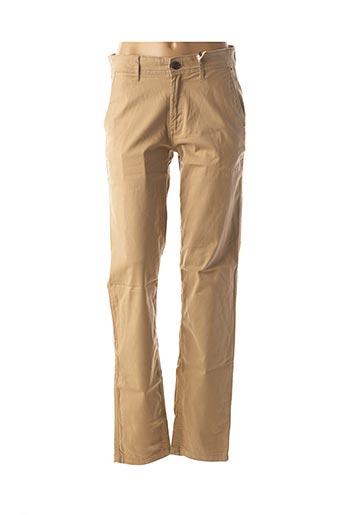 Pantalon casual beige TOMMY HILFIGER pour homme