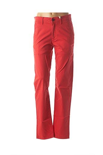 Pantalon casual rouge TOMMY HILFIGER pour homme