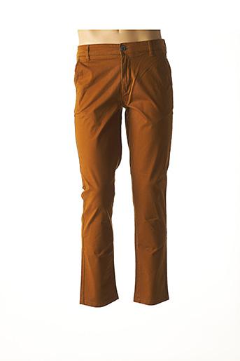 Pantalon chic marron SELECTED pour homme