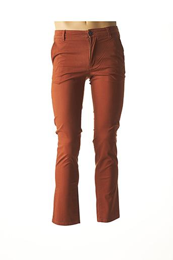 Pantalon chic orange SELECTED pour homme