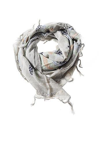 Foulard gris PIECES pour femme