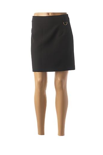 Jupe courte noir TRUSSARDI JEANS pour femme