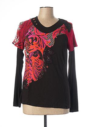 T-shirt manches longues noir JAC JAC pour femme