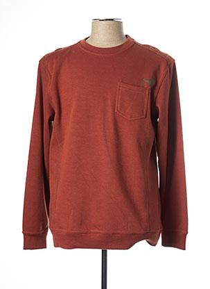 Sweat-shirt orange NEW SPORTSWEAR pour homme