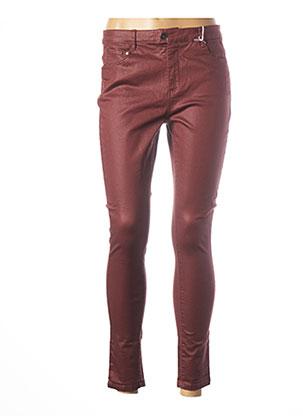 Pantalon 7/8 rouge LES P'TITES BOMBES pour femme