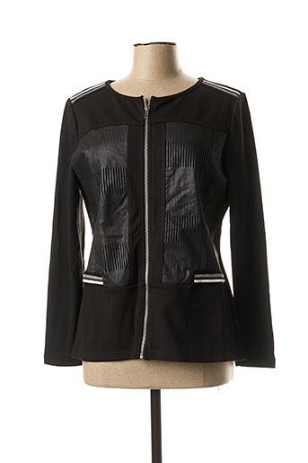 Veste casual noir S.QUISE pour femme