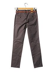 Pantalon chic marron JACK & JONES pour homme seconde vue