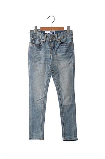 Jeans coupe slim bleu JACK & JONES pour enfant