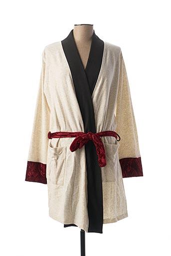 Robe de chambre blanc CHRISTIAN CANE pour femme