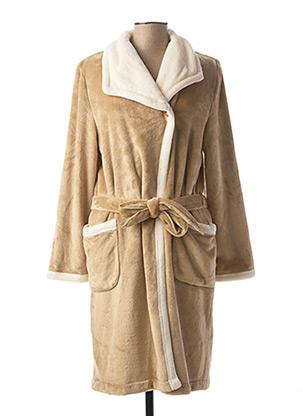 Robe de chambre beige REGENCE pour femme