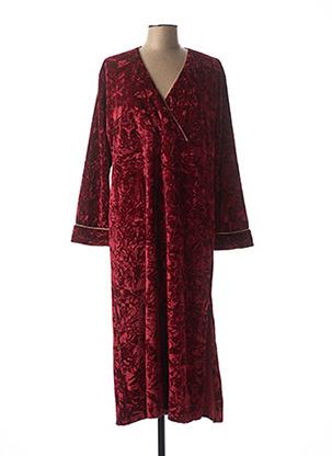 Robe de chambre rouge CHRISTIAN CANE pour femme