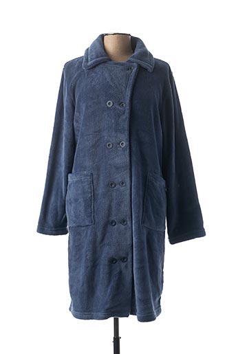 Robe de chambre bleu CANAT pour femme