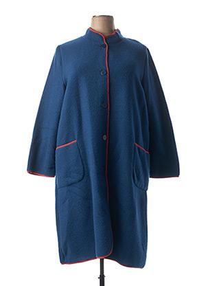 Robe de chambre bleu REGENCE pour femme