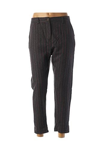 Pantalon 7/8 gris BANDITAS FROM MARSEILLE pour femme