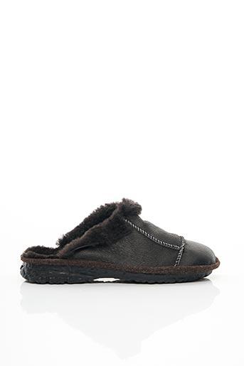 Chaussons/Pantoufles noir ROMIKA pour homme