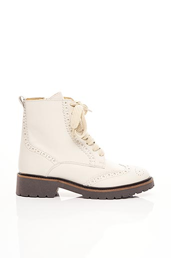 Bottines/Boots blanc BENSIMON pour femme
