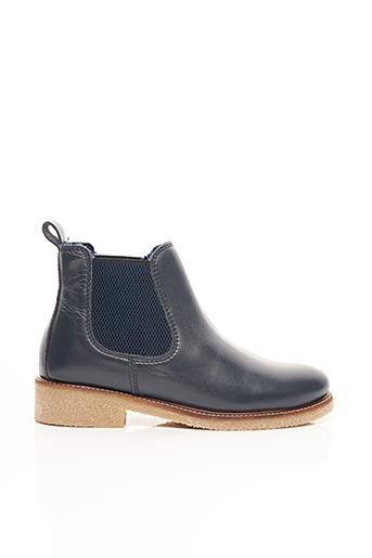 Bottines/Boots bleu BENSIMON pour femme