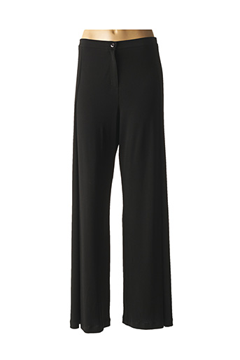 Pantalon casual noir JAVIER SIMORRA pour femme