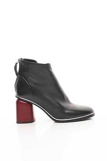 Bottines/Boots noir HALMANERA pour femme