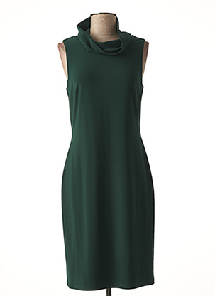 Robe mi-longue vert JOSEPH RIBKOFF pour femme