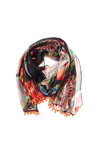 Foulard noir DESIGUAL pour femme