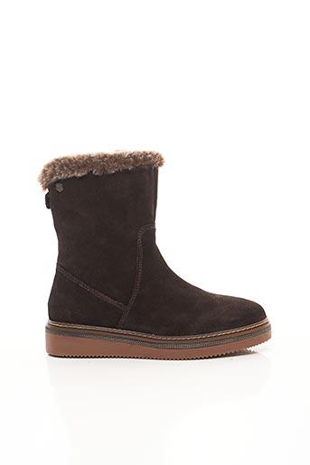 Bottines/Boots marron CARMELA pour femme