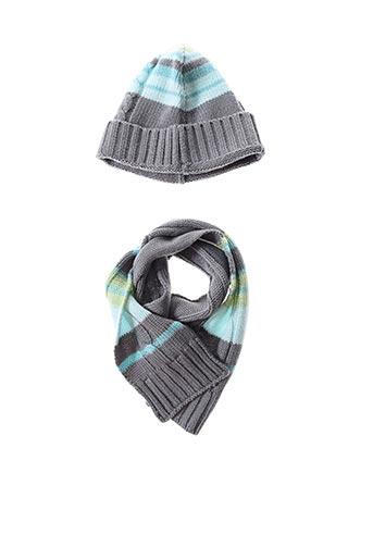 Bonnet gris P'TITES CANAILLES pour garçon