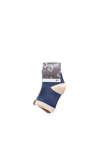 Chaussettes bleu GROSEILLE pour enfant