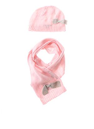 Bonnet rose GROSEILLE pour fille