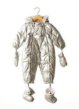 Combi-pantalon gris NANO & NANETTE pour fille
