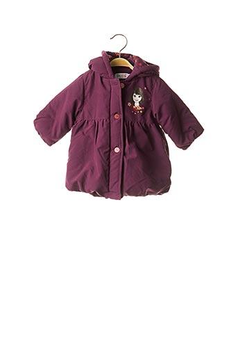 Manteau long violet LA COMPAGNIE DES PETITS pour fille