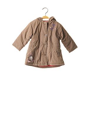 Manteau long marron LA COMPAGNIE DES PETITS pour fille