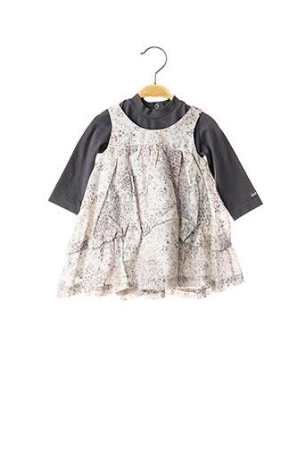 Top/robe gris ABSORBA pour fille