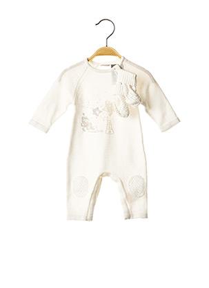 Combi-pantalon blanc 3 POMMES pour enfant