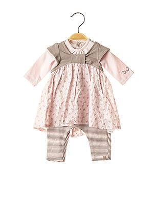 Combi-pantalon rose JEAN BOURGET pour fille