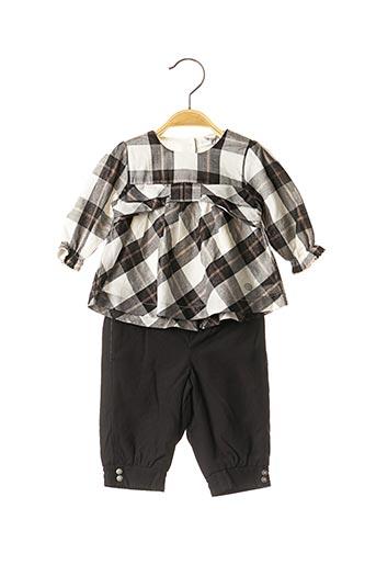 Top/pantalon noir ABSORBA pour fille