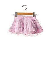 Jupe mi-longue violet LA COMPAGNIE DES PETITS pour fille seconde vue