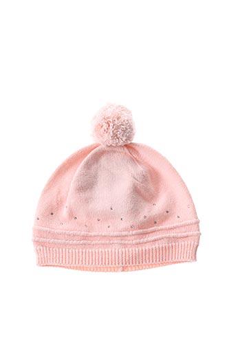 Bonnet rose ABSORBA pour fille