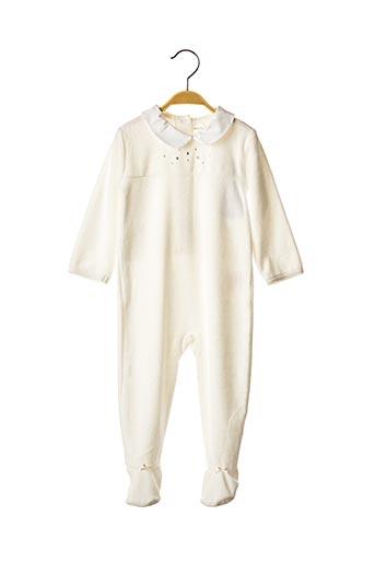 Pyjama blanc ABSORBA pour fille