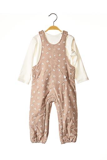 Top/pantalon marron ABSORBA pour enfant