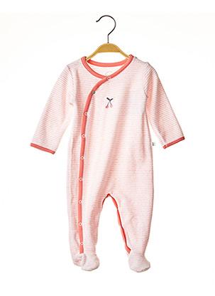 Pyjama rose ABSORBA pour fille