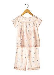 Pyjama rose BALABALA X KIDILIZ pour fille seconde vue
