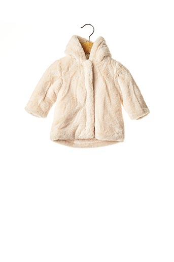 Manteau long beige ABSORBA pour fille