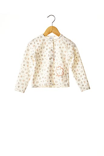 Veste casual beige ABSORBA pour fille